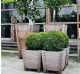 Hardwood Sevilla Planters from Potstore.co.uk